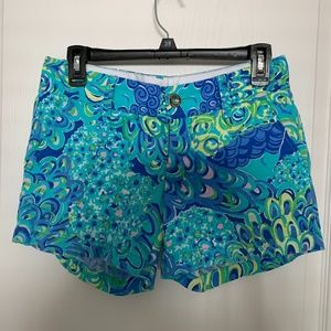 Lilly Pulitzer Callahan Shorts in Lilly's Lagoon